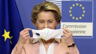 Presidente della Commissione europea Ursula Von Der Leyen (La Pesse)
