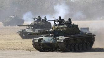 Esercitazioni militari a Taiwan (La Presse)