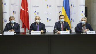 incontro Turchia Ucraina (La Presse)