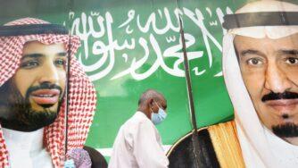 Arabia Saudita, re Salman e Mohammed bin Salman (La Presse)