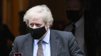 Boris Johnson lascia il 10 di Downing Street (La Presse)