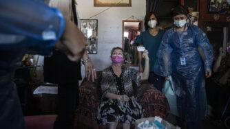 Cile, vaccinazioni anti Covid (La Presse)
