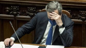 Camera dei Deputati - Voto di fiducia al governo di Mario Draghi (La Presse)