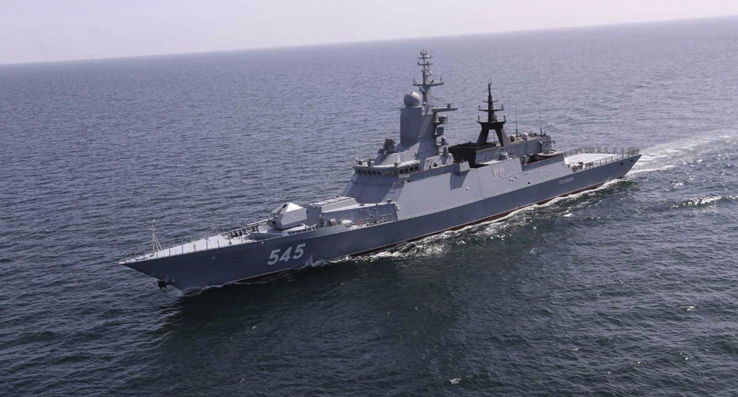 Nave russa Marina Russia (La Presse)