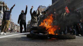 Nepal, proteste a Kathmandu durante gionata di sciopero generale (La Presse)