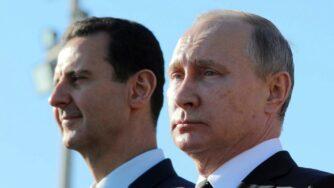 Vladimir Putin e Bashar Assad (La Presse)