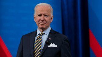 Il presidente Joe Biden ad un evento televisivo al Pabst Theater di Milwaukee nel Wisconsin (La Presse)