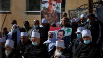 Siria drusi assad (La Presse)
