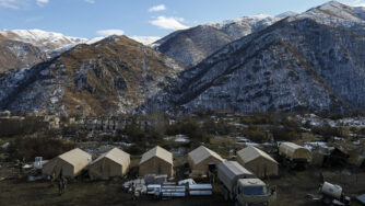 Nagorno-Karabakh corridoio Zangazur