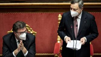Cloud 5G Draghi Giorgetti