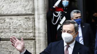 Mario Draghi Italia Francia