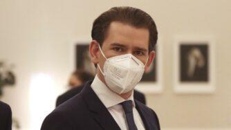 Kurz, mascherina (La Presse)