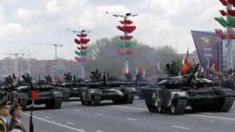 mezzi corazzati bielorussia
