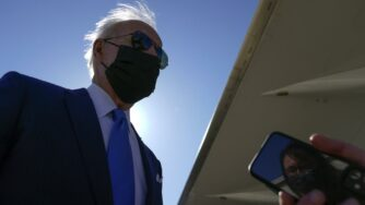Biden Air force One (La Presse)