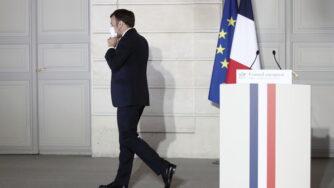 Emmanuel Macron elezioni francia 2022