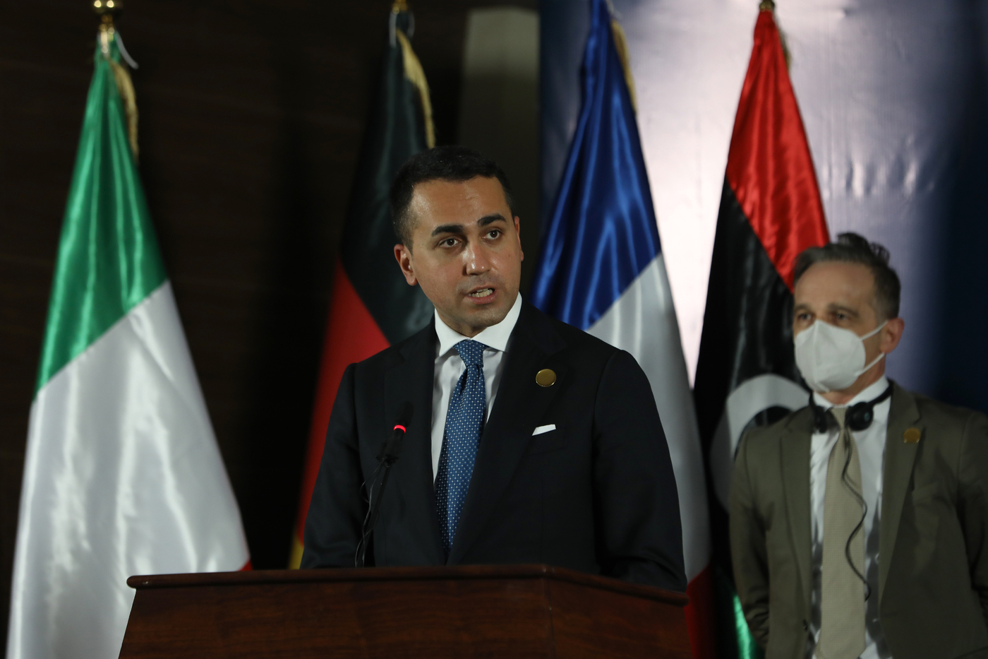 Libia, il ministro degli Esteri italiano Luigi Di Maio a Tripoli