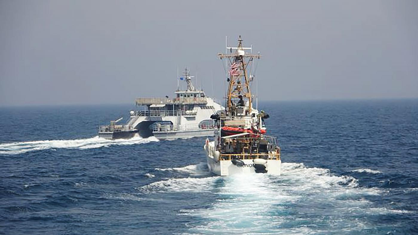 Manovra Golfo Persico Marina Usa e Pasdaran (La Presse)