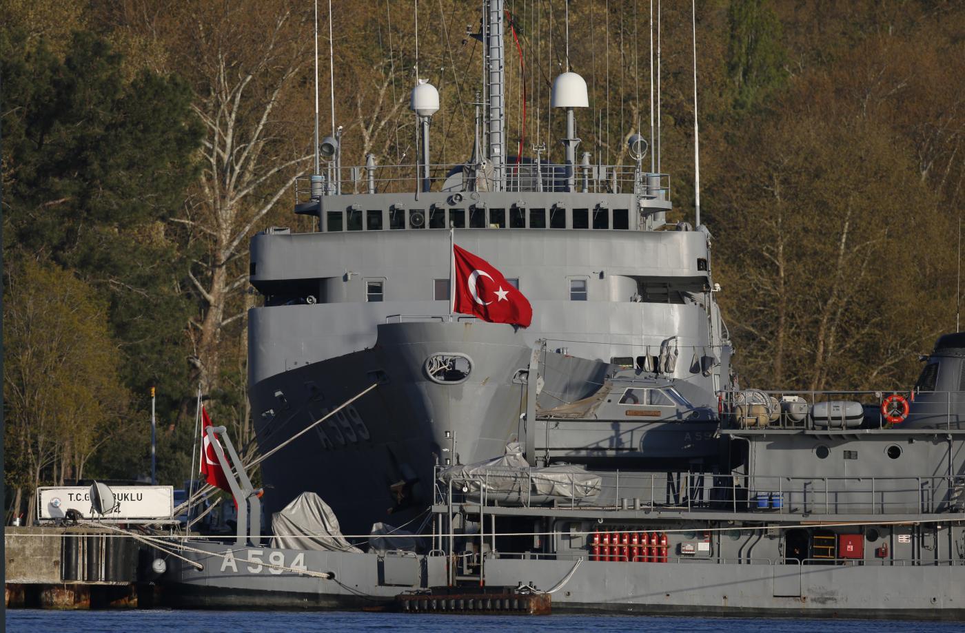 Turchia, Marina turca (la Presse)