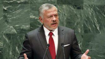 Re Abdullah II di Giordania (La Presse)