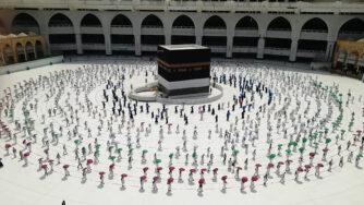 coronavirus arabia saudita pellegrinaggio mecca