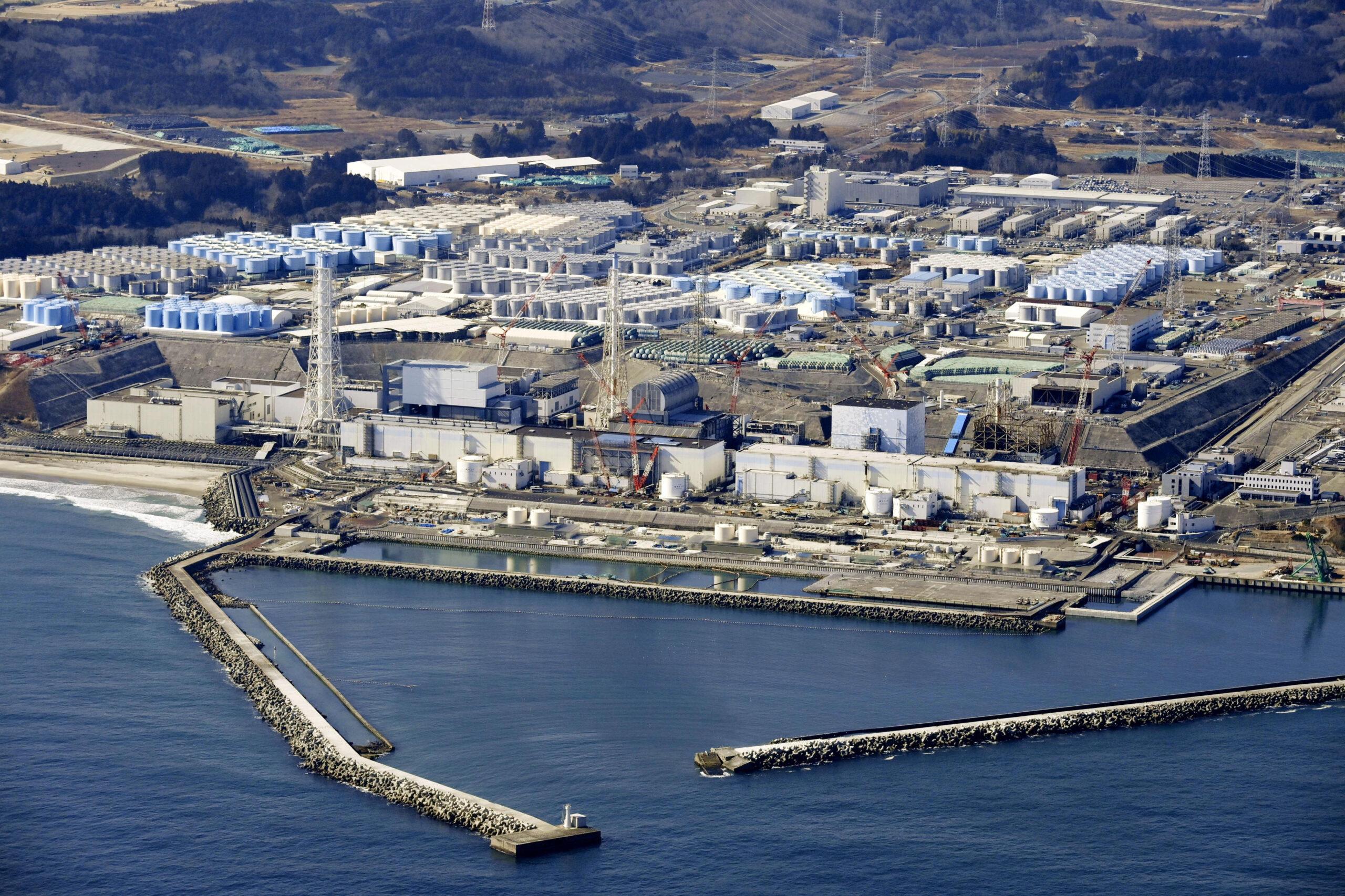 giappone acqua radioattiva Fukushima