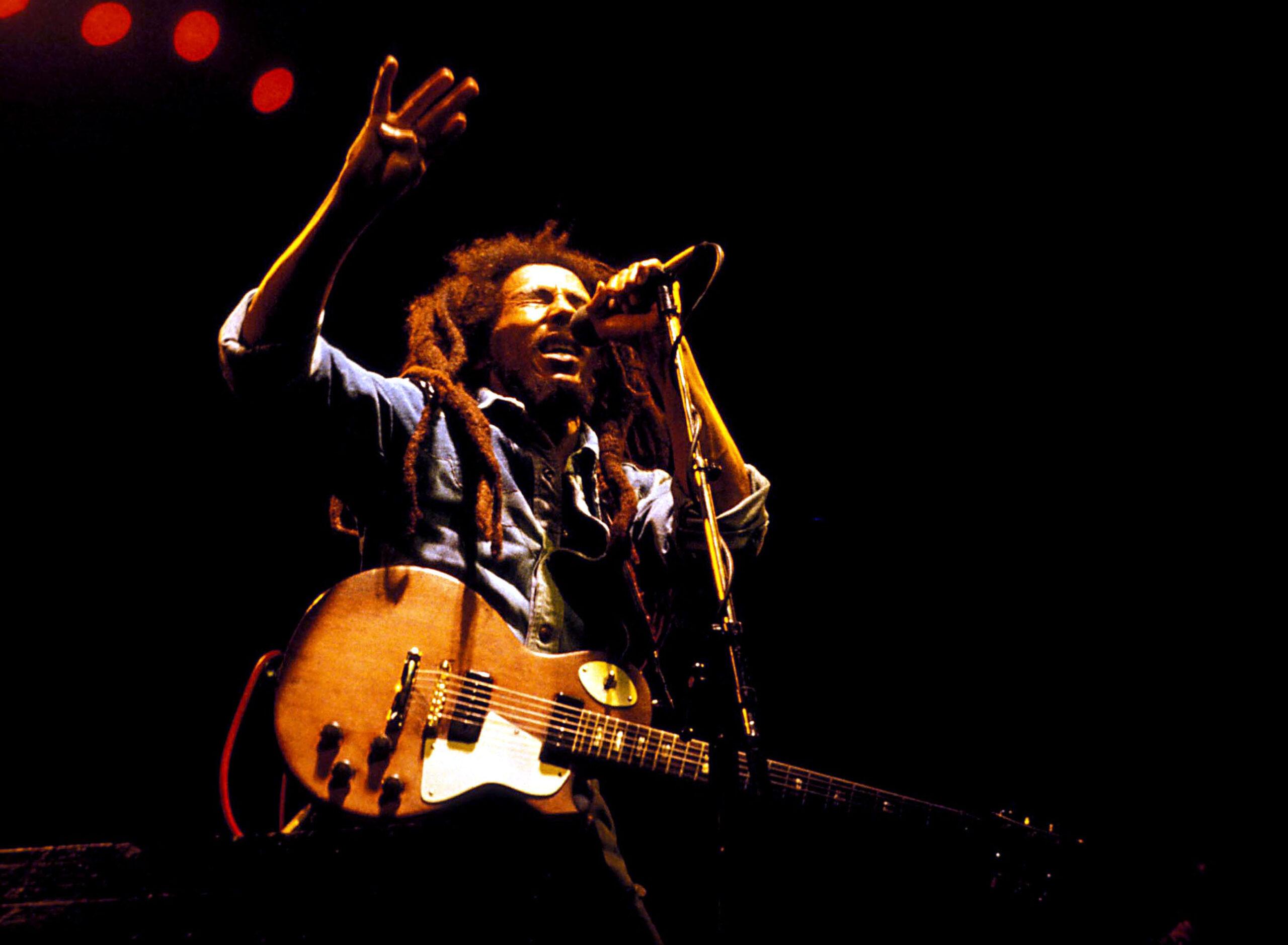 Concerto di Bob Marley (LaPresse)