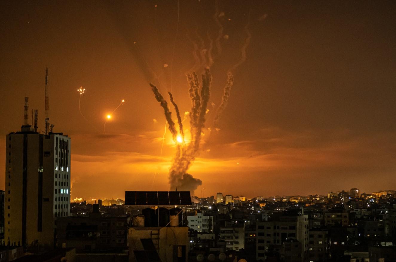 Israele attacca Gaza (Getty)