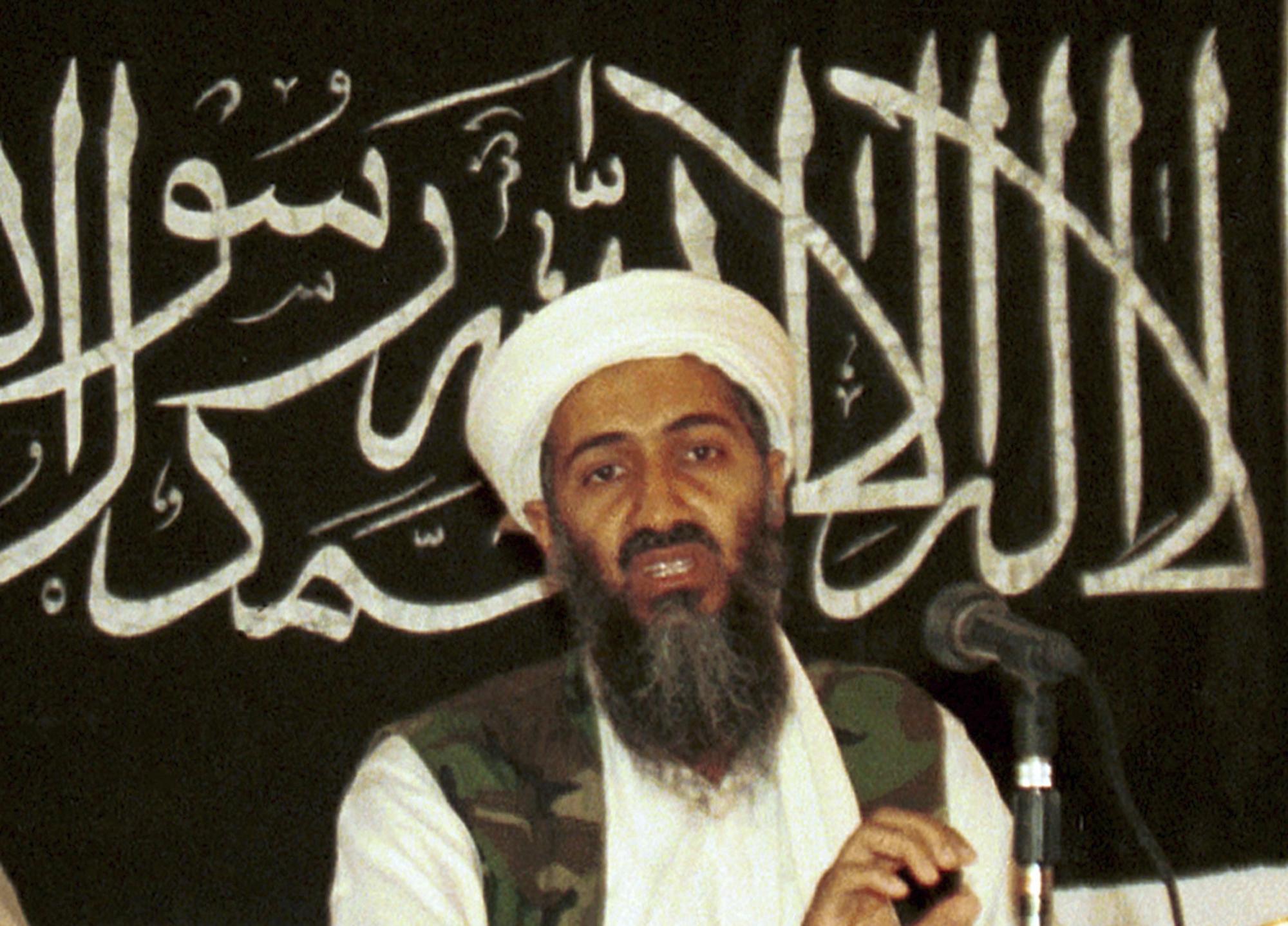 Osama Bin Laden, il fondatore e capo di Al Qaeda, ucciso il 2 maggio del 2011 (Foto Lapresse)