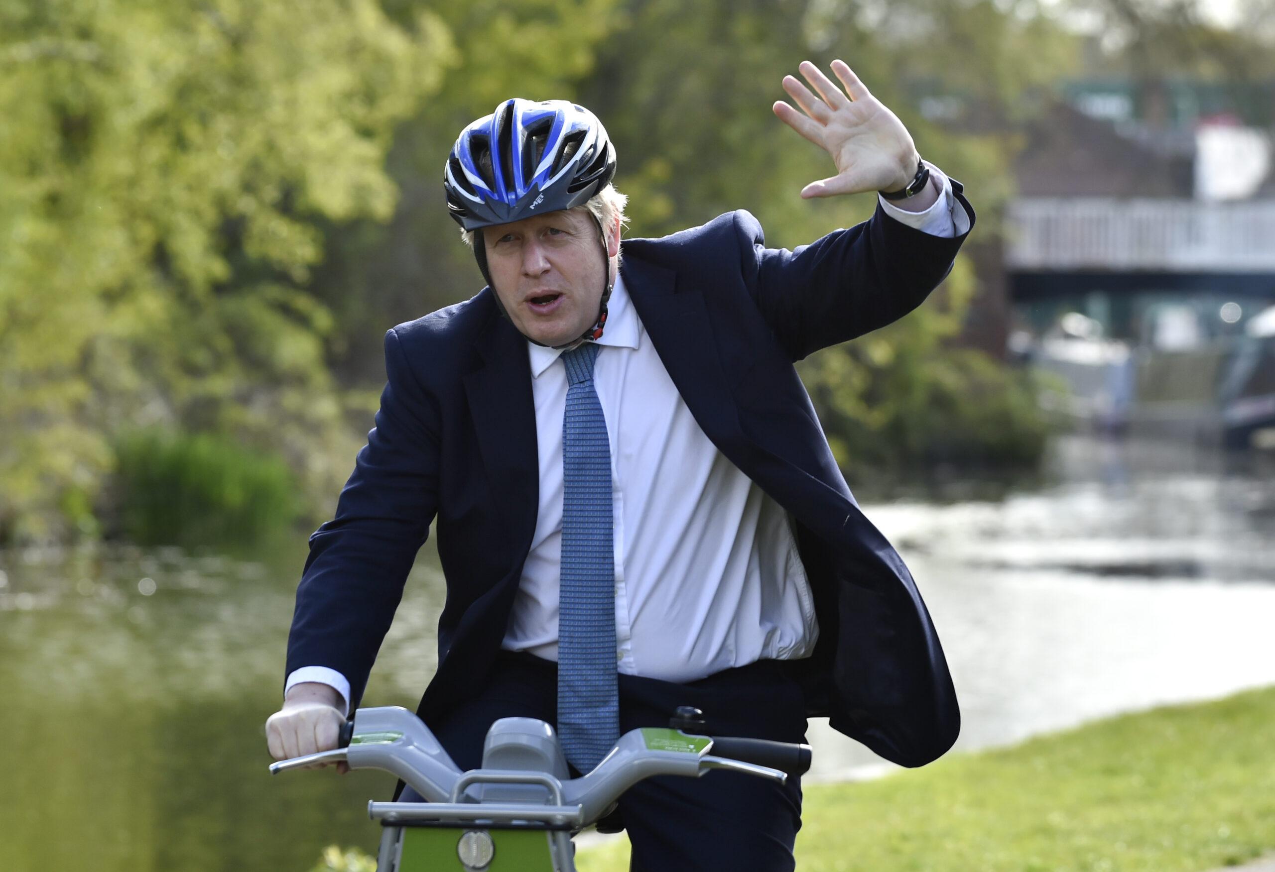elezioni regno unito Johnson