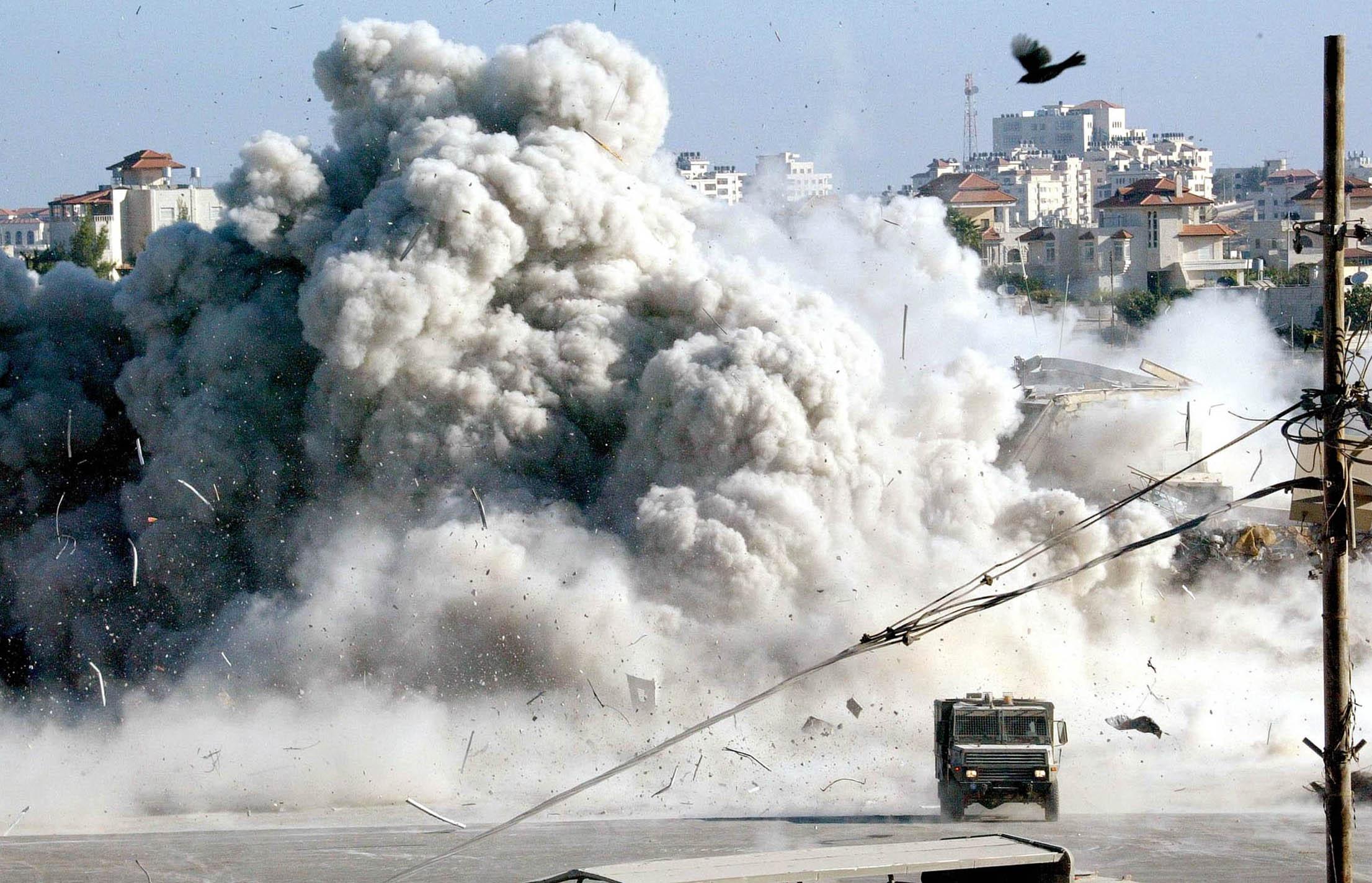 intifada israele palestina