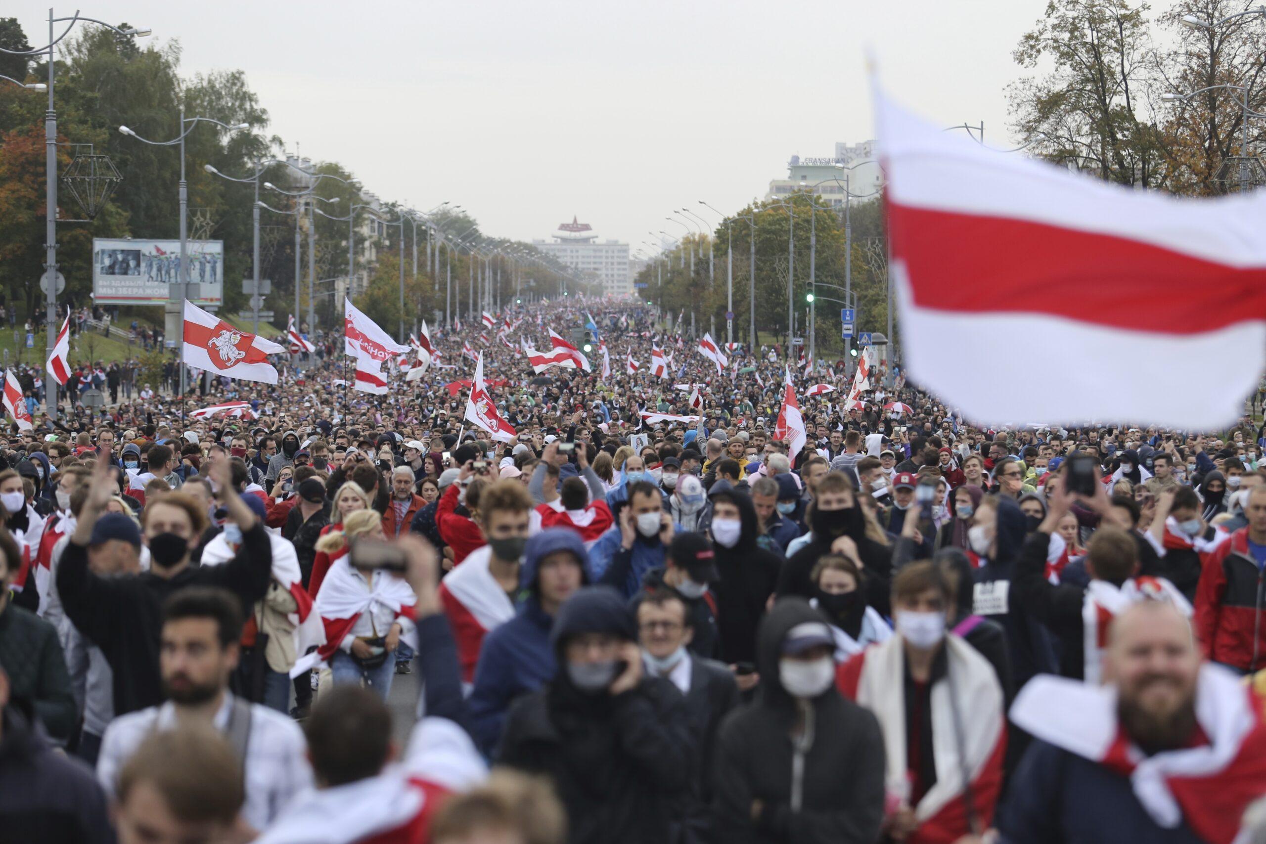 protesste bielorussia