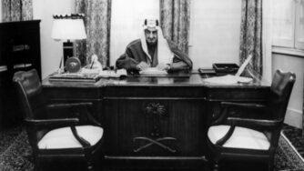 Re Faysal dell'Arabia Saudita