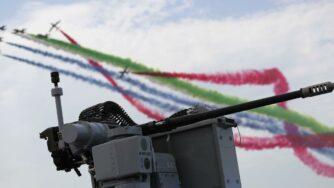 Emirati Arabi Uniti, pattuglia acrobatica (La Presse)