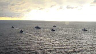 Marina russa nel Mar Nero (La Presse)