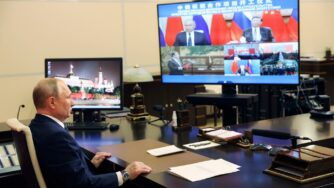Putin e Xi (La PRESSE)