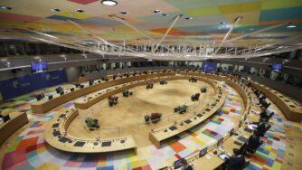 Riunione Consiglio europeo (La Presse)