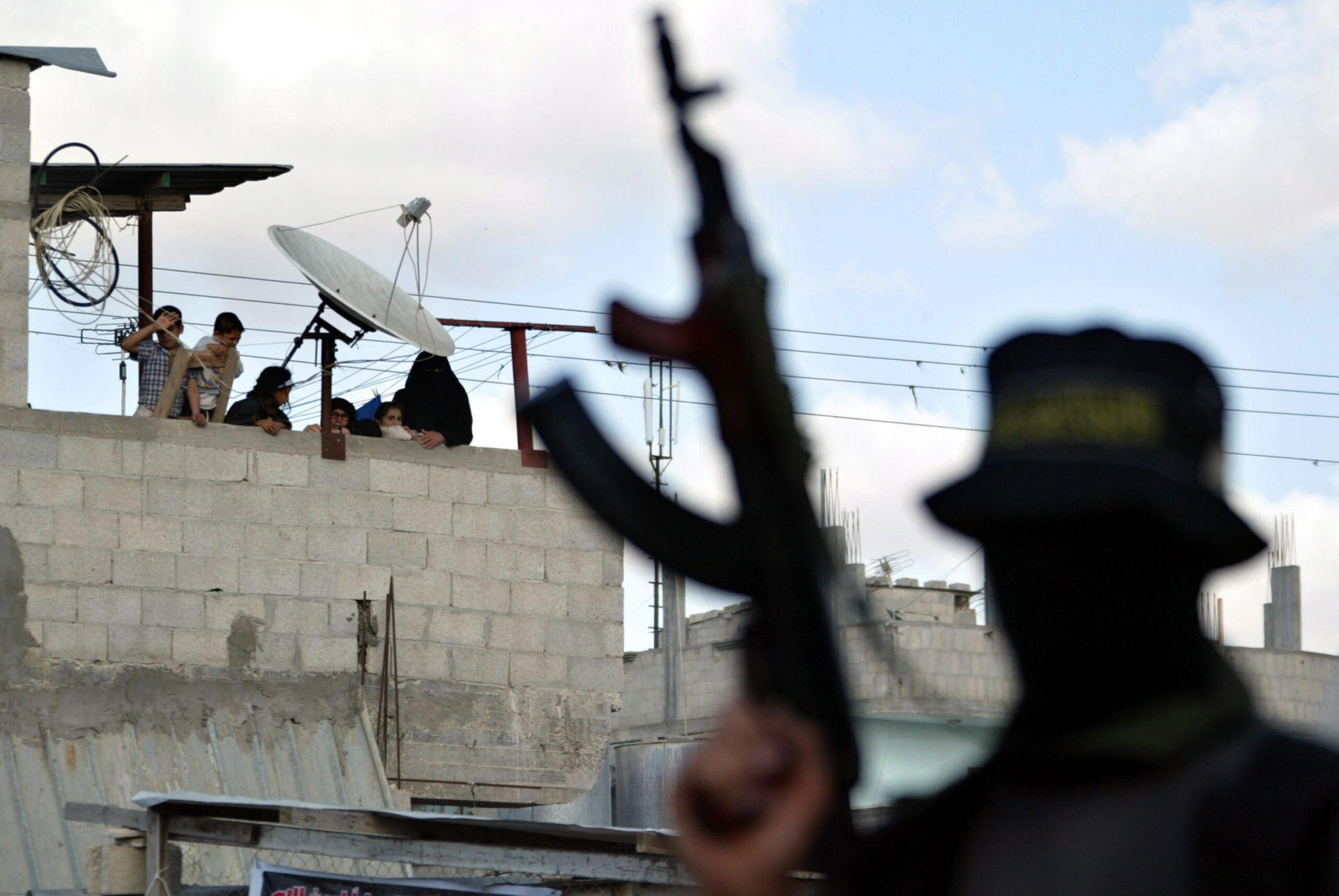 Protesta Jihad islamica