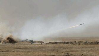 Missile russo esercitazione (La Presse)