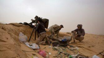 Combattenti in Libia (La Presse)