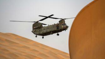 Elicottero in Sahel (La Presse)
