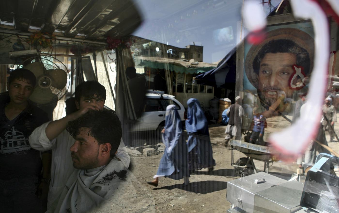 Massoud ritratto Afghanistan (La Presse)