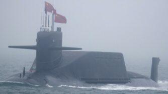 Sottomarino cinese (la Presse)