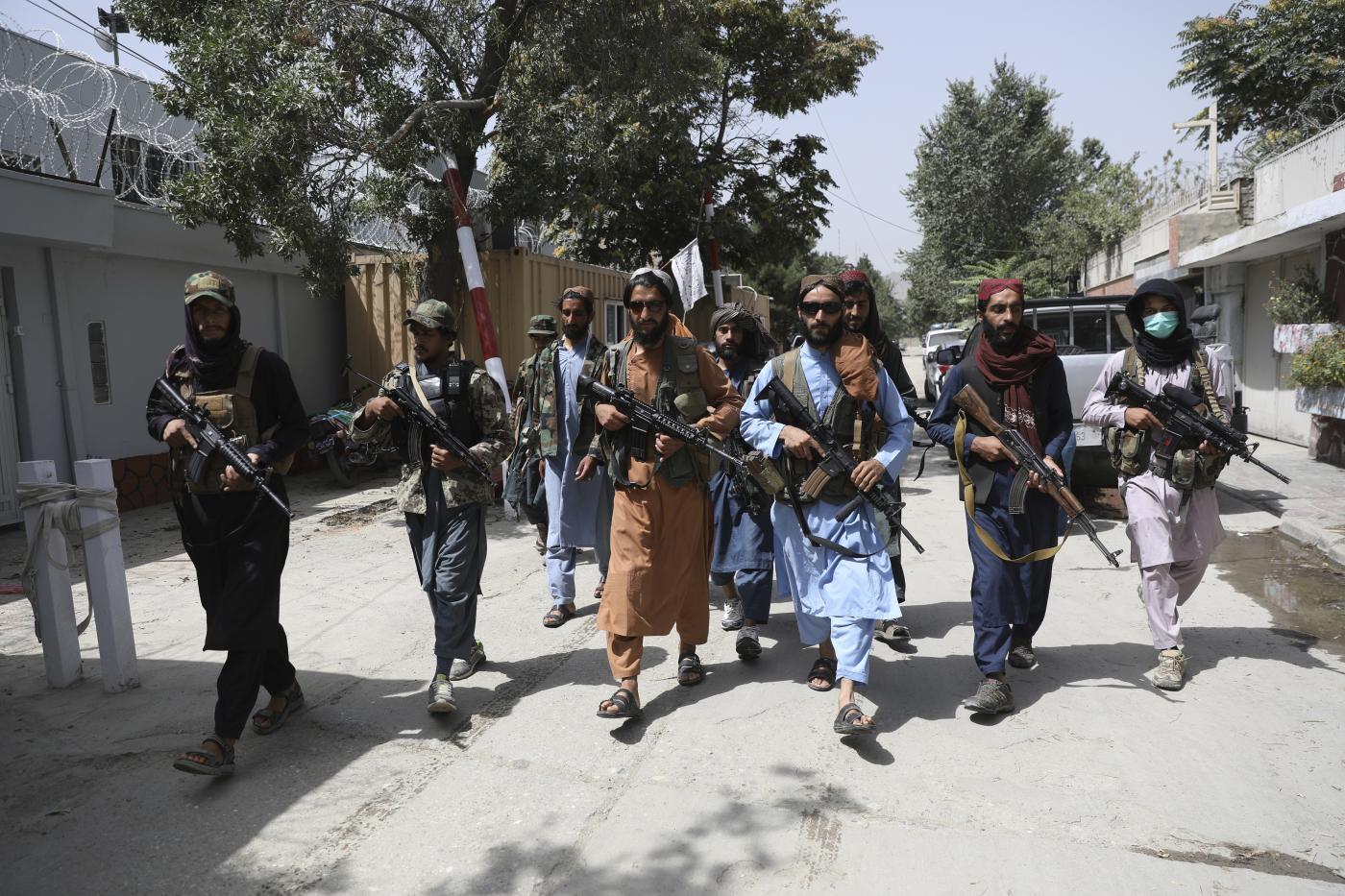 Afghanistan, Talebani di pattuglia a Kabul (la Presse)