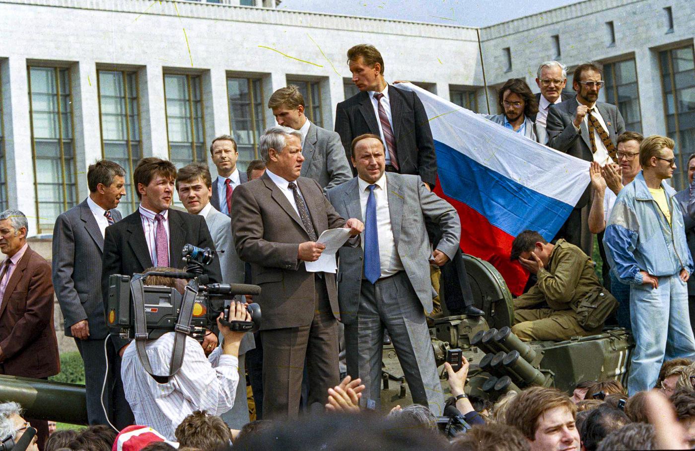 Tentato golpe Unione Sovietica (La Presse)