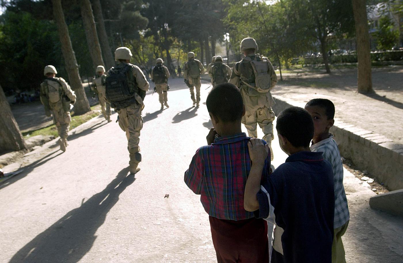 Truppe Usa a Kabul (La Presse)