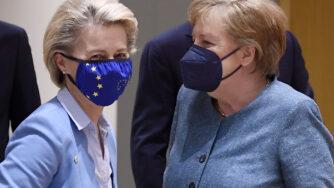Angela Merkel Ursula Von Der Leyen