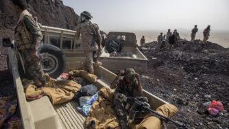 combattenti yemeniti