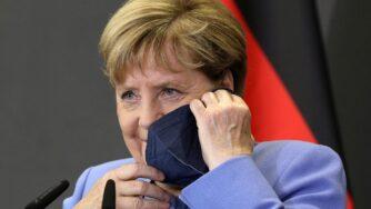 Tirana, il primo ministro Edi Rama riceve la cancelliera tedesco Angela Merkel