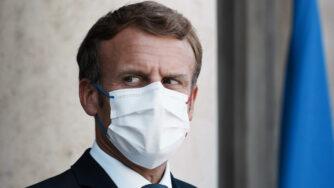 Il presidente francese Emmanuel Macron (La Presse)