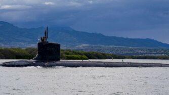 Sottomarino Usa (La Presse)
